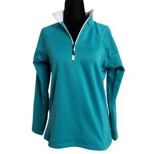 SECOND SKIN 1/4 Zip Golf Cover Up M